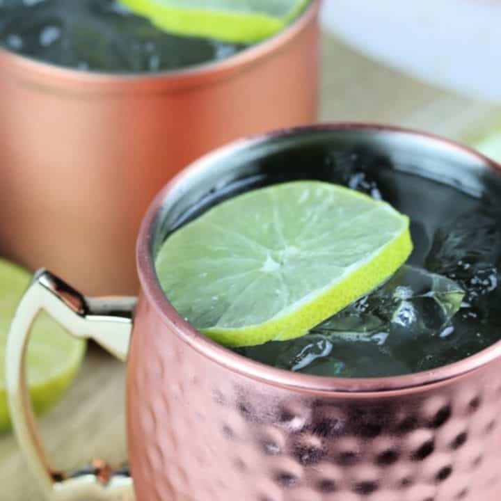 Easy Moscow Mule recipe with vodka