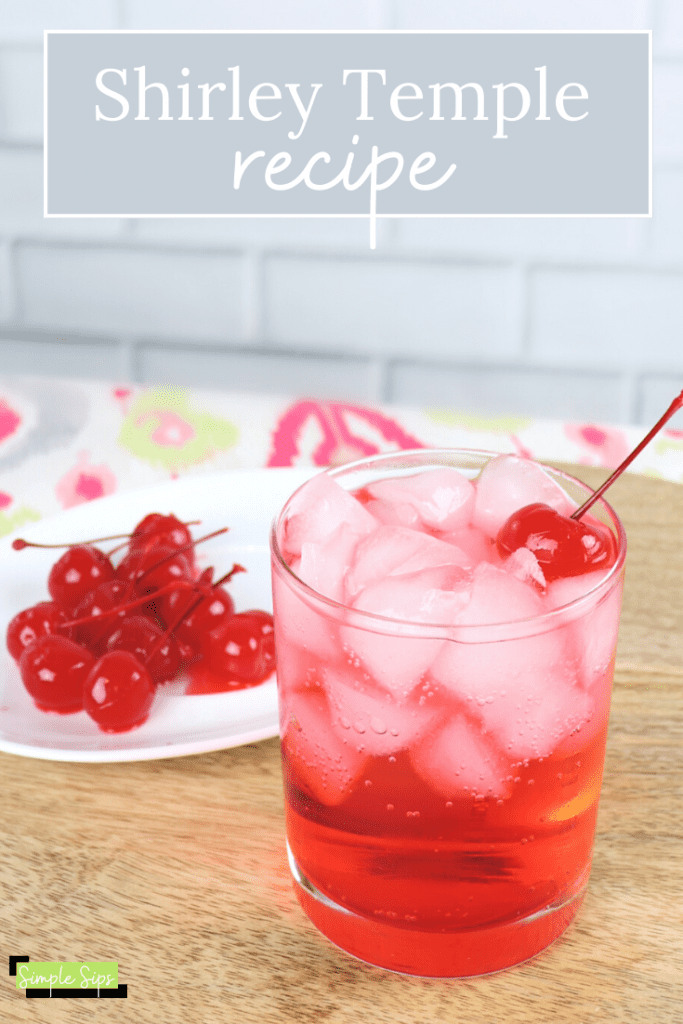 Shirley Temple mocktail recipe