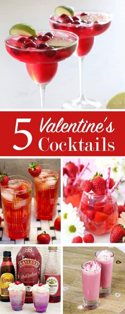 5 valentine's day cocktails