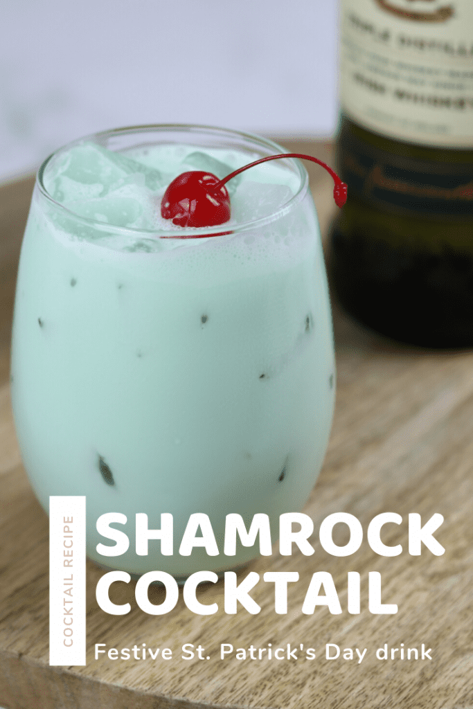 St. Patrick's Day Shamrock cocktail recipe