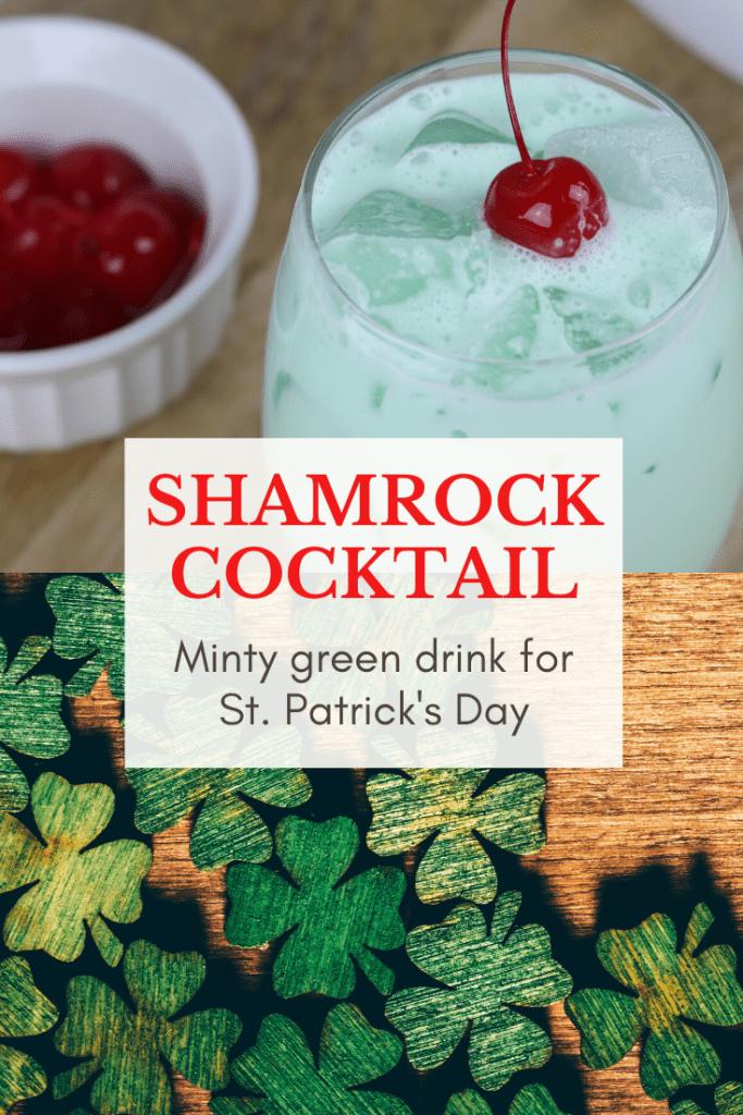 Shamrock cocktail recipe