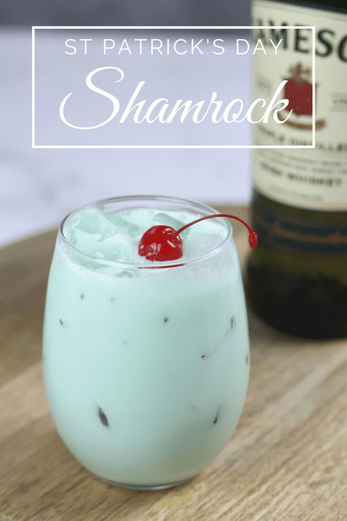 Shamrock cocktail drink recipe