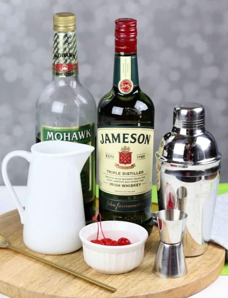Shamrock cocktail ingredients
