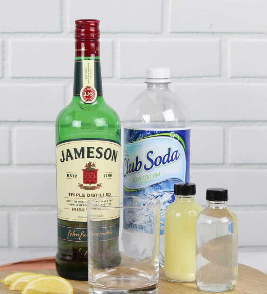whiskey fizz ingredients