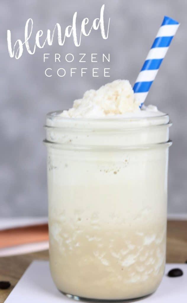 BLENDED FROZEN COFFEE
