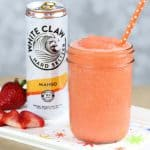 Mango strawberry white claw slushie