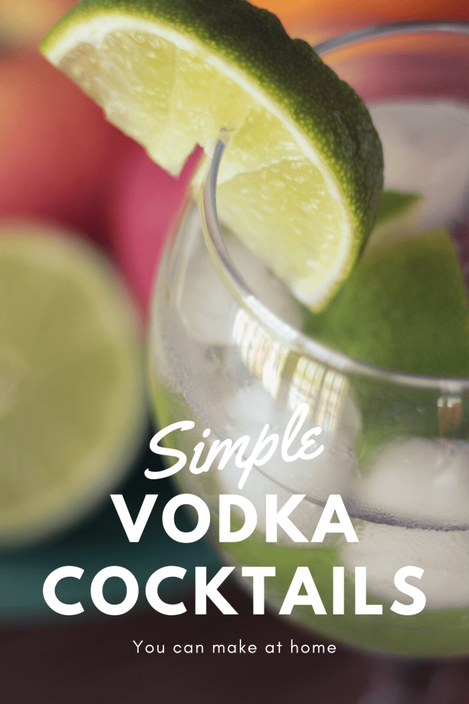 Simple vodka cocktails you can make at home