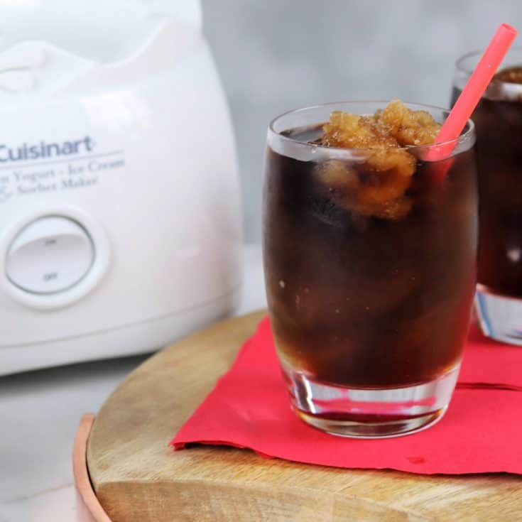frozen whiskey slush square