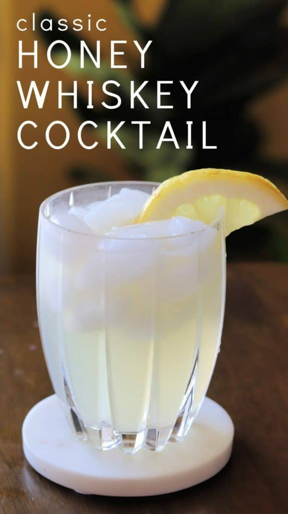 CLASSIC honey whiskey lemonade pin 2
