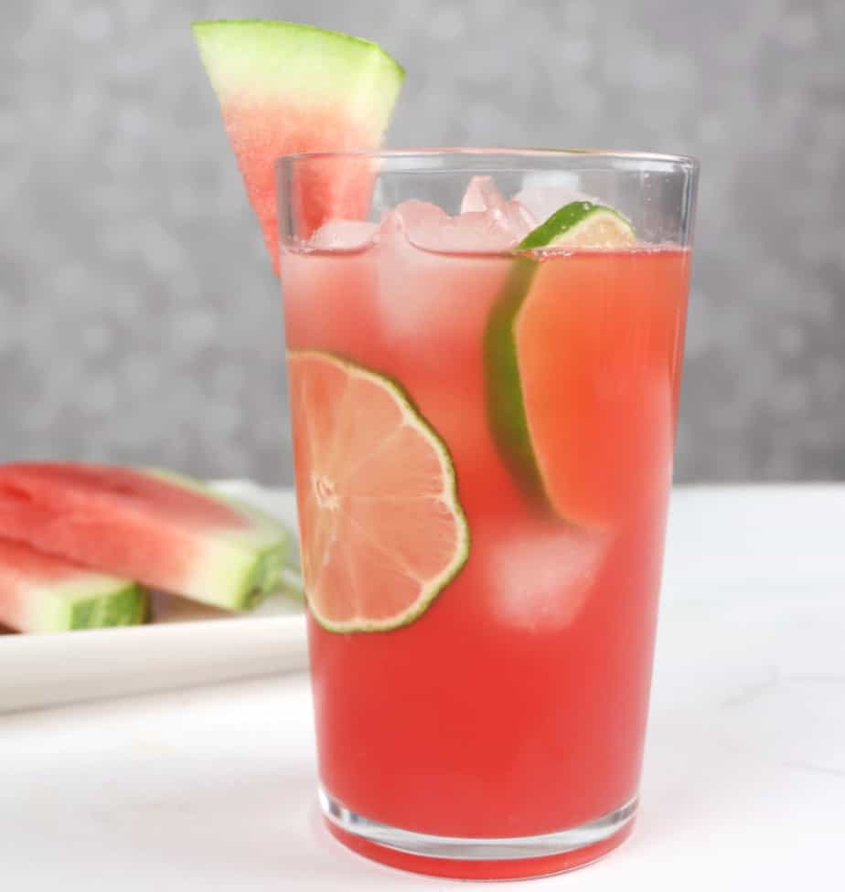 Vodka watermelon cocktail cooler