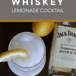 honey whiskey lemonade cocktail pink 3