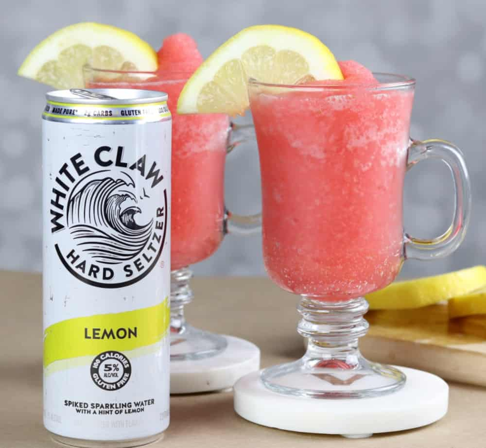 white claw frozen berry lemonade