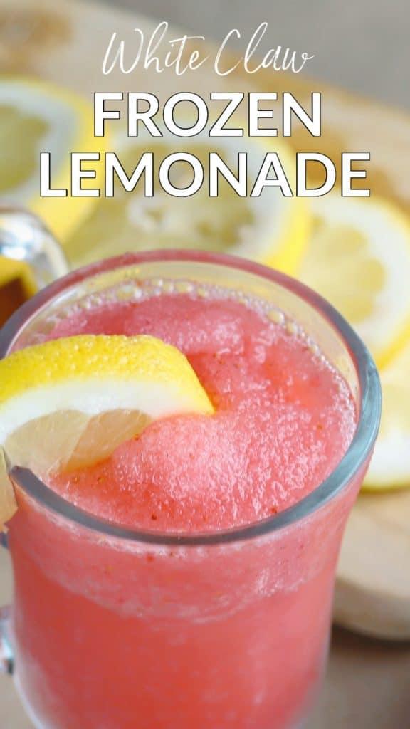 white claw frozen lemonade