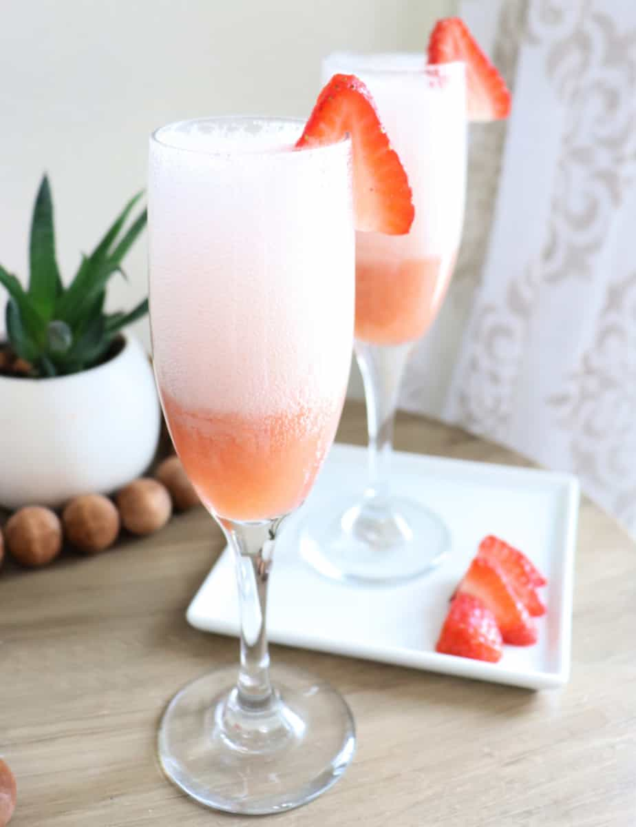 Strawberry mimosa pic 1