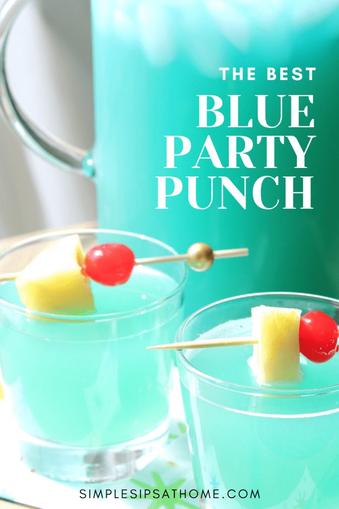 the best blue party punch