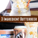 3 ingredient butterbeer