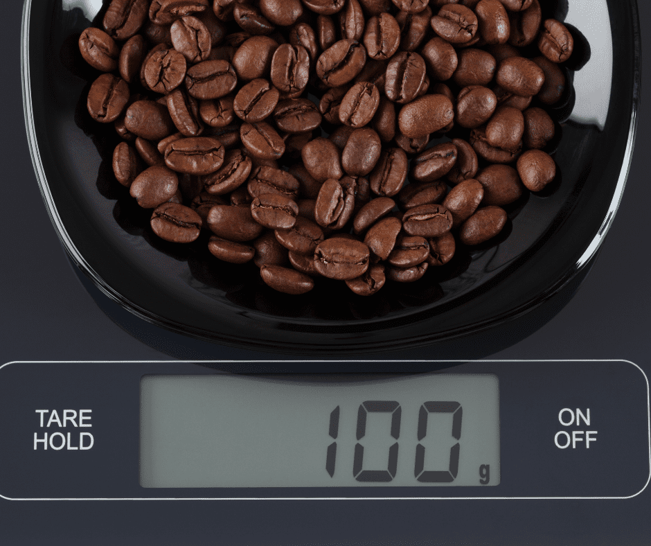 coffee scale - the best coffee at home