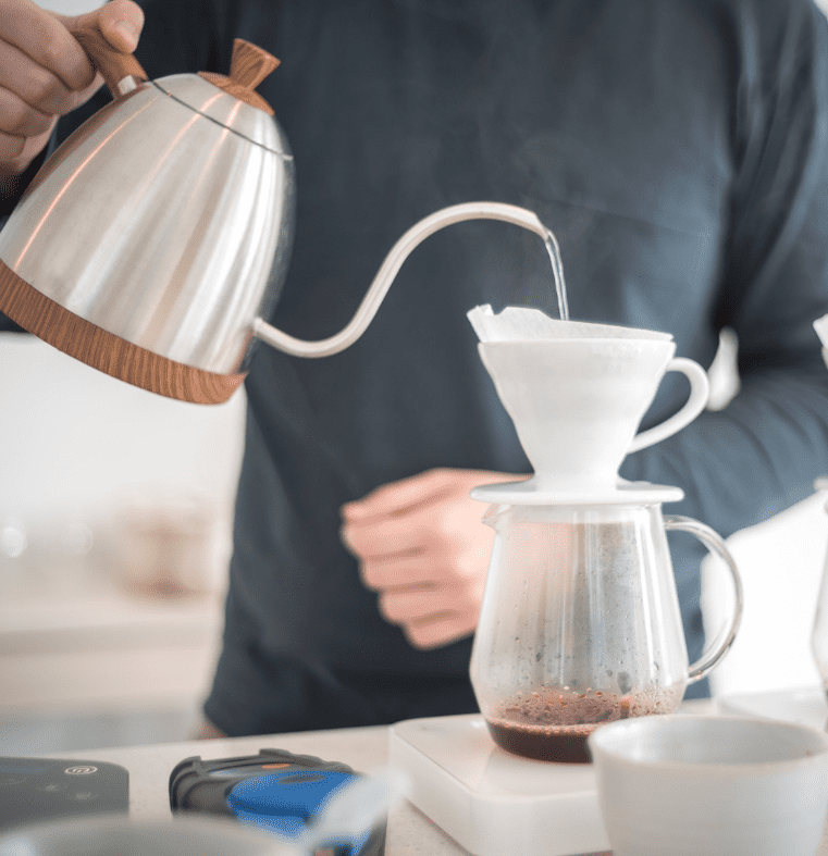 make coffee at home