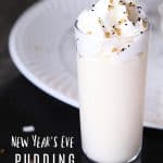 New Year's Eve pudding shots