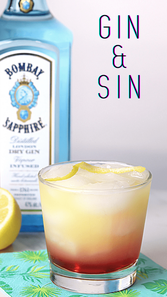 Gin and Sin cocktail