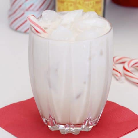 Peppermint white russian cocktail recipe