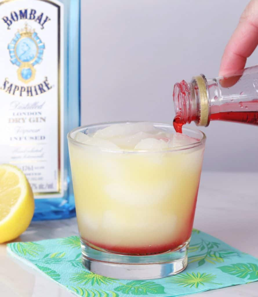gin and sin how to layer a cocktail