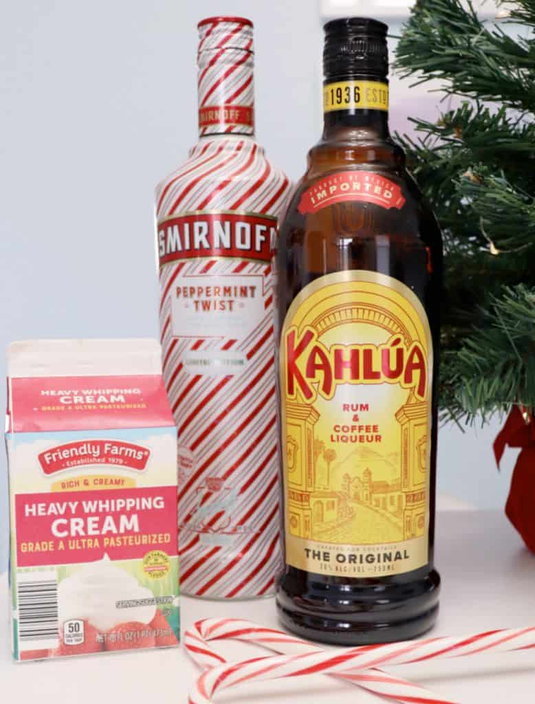 peppermint white russian ingredients